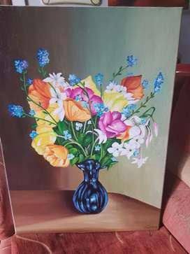 Vendo cuadros pintados en acrilicos