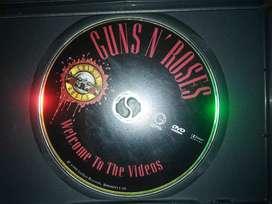 DVD VIDEOS GUNS N ROSES