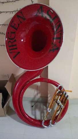 Instrumentos musical tuba o cambio