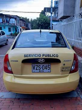 Taxi Hyundai accent 2008