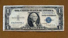 Billete de 1 dólar U.S.A. Silver Certificate series 1935 G