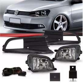 Kit de Faros Auxiliares Volkswagen Voyage Gol Trend Saveiro.