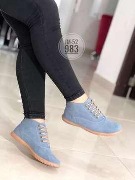 Zapato Bota Botin Casual Para Dama