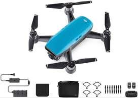Dron Dji Spark Color Azul, Fly More Combo - 10/10