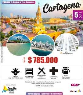 Cartagena Super promo 4 Noches