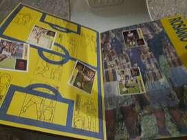 Album de figuritas futbol 93