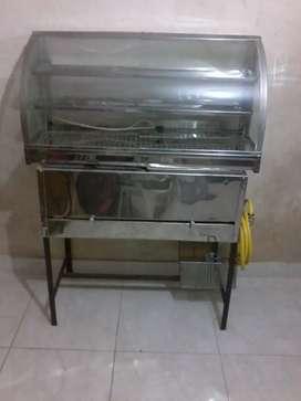 Freidora semiindustrial y calentador eléctrico