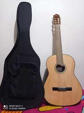 Se vende guitarra+estuche