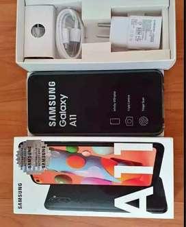 Samsung a11 64gb nuevos acepto tarjetas