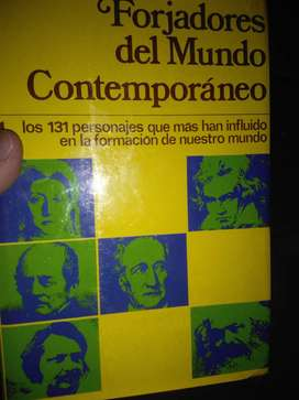 Forjadores del mundo contemporáneo: Cuatro tomos sobre personajes históricos: Forjadores del mundo contemporáneo