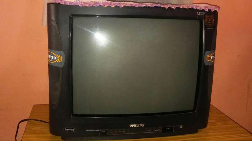 """VENDO TV PHILIPS POWERVISION STEREO 21"""" 0"""