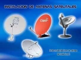 Intalacion de Antenas Satelitales