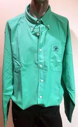Camisa hombre Polo Club. Talle XL