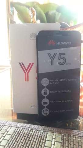 Huawei y5 2018 totalmente nuevo!!!