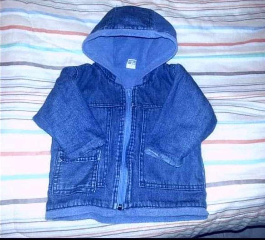 Campera Jeans Interior Polar 0