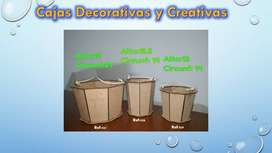 CREATIVE BOX - Cajas Decorativas y Creativas