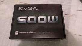 fuente evga 500w 80plus bronce