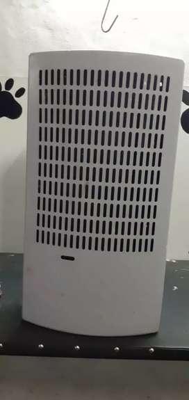Calefactor tiró balanceado