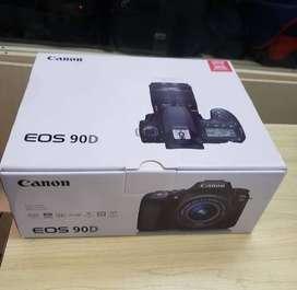 Canon EOS 90D 32.5 mega pixeles, 4K . (sólo cuerpo) + Memoria Sandisk Alta velocidad 128GB