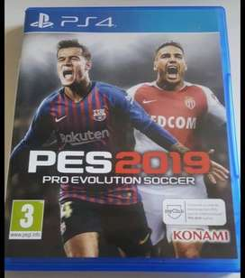 PES 2019 PS4 + Option File Completo