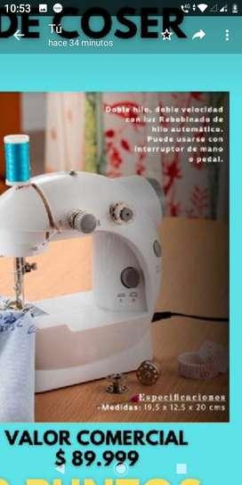 Mini Maquina de coser portable