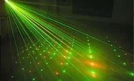 Laser Lluvia Multipunto Rayos Audioritmico Tecno Cooler