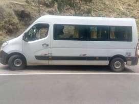 Renault  máster   con asientos turísticos