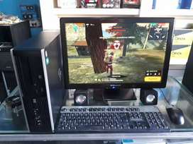 """PC con Free fire y Monitor LCD 22"""""""