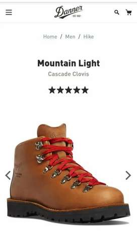 Venta de botas Danner Mountain light
