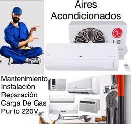 Instalación Mantenimiento Y Reparación De Aires Acondicionados