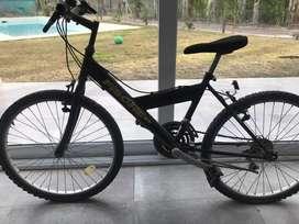 Bicicleta Fischer rodado 24 negra