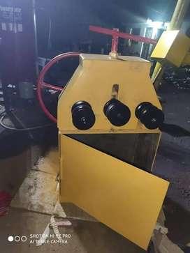 """Dobladora, Roladora de tubos cap. 2"""" y 1 ¼ manual"""