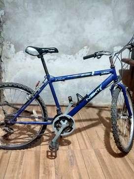 Vendo bicicleta rodado26 poco uso