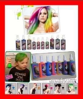 Tintes Lacas Fantasia en Spray para todo tipo de Cabello