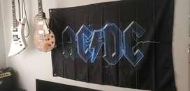 AC/DC bandera poster