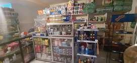 Pañalera y tienda