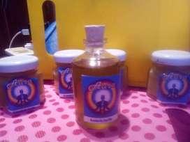 Aceite de jarilla y magnesio
