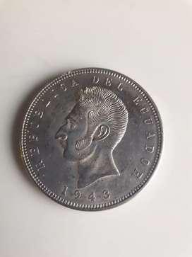 Moneda del ecuador