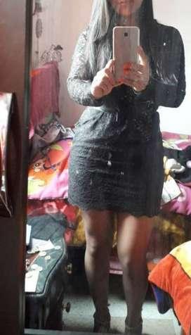 Vestido Elegante de Tipo Coctel.