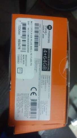 Motorola Moto E6plus de 64gb