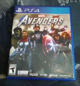 vendo videojuego marvel Avengers  nuevo