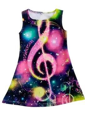 Vestido Nota Musical