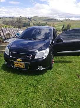 Chevrolet Aveo gt emotion modelo 2011