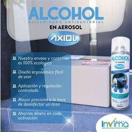ALCOHOL GLICERINADO ANTIBACTERIAL EN AEROSOL
