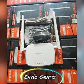 Repetidor WiFi marca Tenda 2 antenas N301