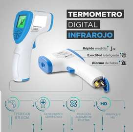 Termómetro digital infrarojo