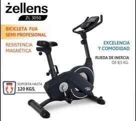 Bicicleta Fija Magnética Zallens ZI 3050 Como nueva