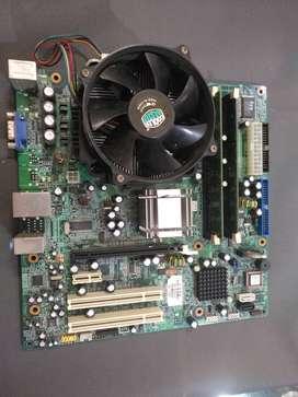 Board DDR2 con 4Gb de RAM Y procesador