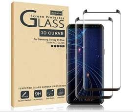 Full Glue Templado Pantalla Curvo Samsung S9+