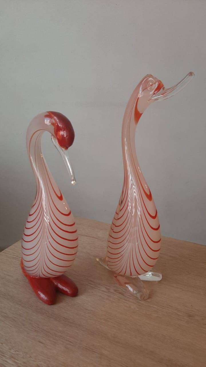 Cisnes cristal murano 0